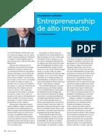 Entrepreneurship de Alto Impacto