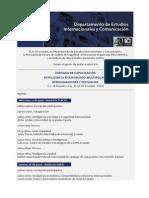 Jornadas Capacitación Inteligencia en Un Mundo Multipolar