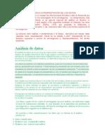 Análisis de Los Datos (Verde)
