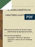 Tema 4 Unidad 7-Modelo genético carac.cuantitativos