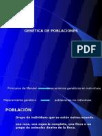 Unidad 4-Frecuencia génica y mod. gen. p selección