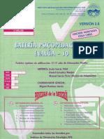 Cuadernillo evalua 10
