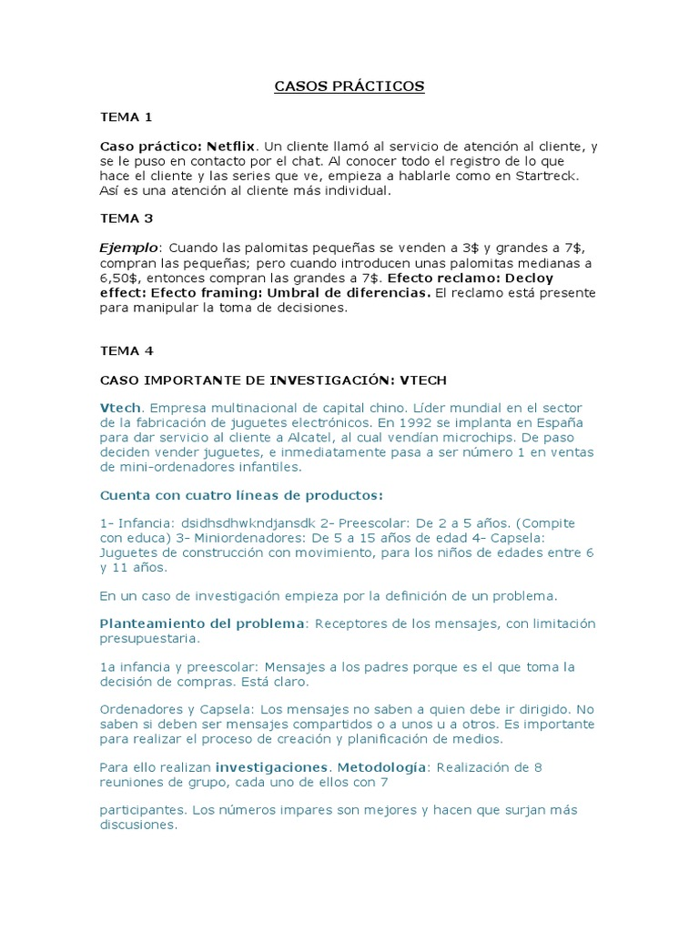 Prácticos Prácticos Casos Marketing Casos Prácticos Prácticos Marketing Casos Marketing Marketing Casos qpUzGMSV
