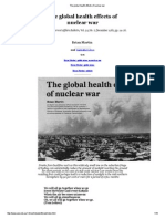 The Global Health Effects of Nuclear War