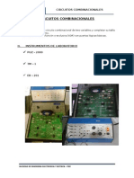 CIRCUITOS COMBINACIONALES - CIRCUITOS DIGITALES I