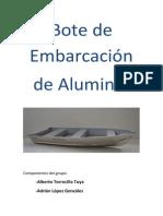 Bote de Aluminio
