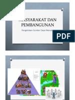 Struktur Masyarakat Dan Pembangunan