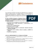 Así Es El Pacto PSOE- Ciudadanos en Andalucía- Empleo