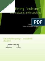 Antropology - PP Presentation(en)