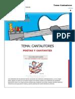 Pautas Poemas basado en letras de Cantautores.