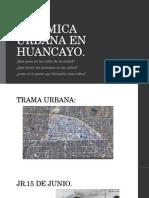Dinamica Urbana en Huancayo