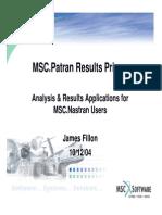 MSC.patran Results Primer