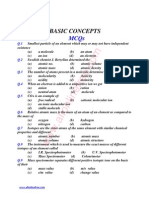 1st Chapter Basic Concepts Mcqs