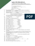 Objective Ch 2 FSC Part1