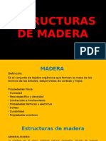 Estructuras de Madera Original