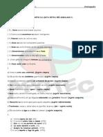 Revisão Português - Simulado  Gabarito