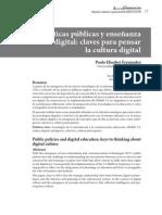 Politicas Publicas y Enseñanza Digital AUSTRAL