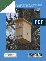 Manual para construir cajas nido
