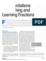 representing fractions nctm