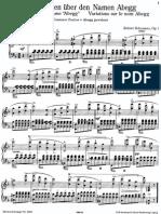 Schumann_Variaciones Abegg Op.1