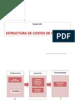 Sesión 02 Estructura de Costos de Inversión