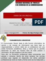 Clase1-Derecho de Prensa