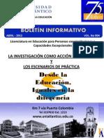 Boletín Informativo Volumen IV Abril 2015