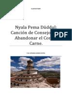 Nyala Pema Duddul Canción de Consejo Para Abandonar El Comer Carne.