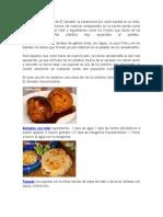 La Comida Tradicional de El Salvador