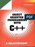 C++ balagurusamy