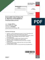 Matura 2015 - polski - poziom rozszerzony - arkusz maturalny (www.studiowac.pl)