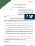 Lei Federal Nº 11.788, De 25 de Setembro de 2008