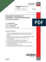 Matura 2015 - WOS - poziom rozszerzony - arkusz maturalny (www.studiowac.pl)