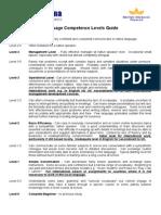 NJ13433 - Linguarama Competence Levels (1)