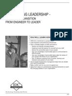 Engineer to Leader