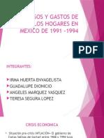 Ingresos y Gastos de Los Hogares en Mexico 2
