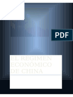 Régimen Económico de China