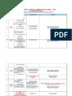 Programacion Por Semanas 2015-Segunda Rotacion-calendario y Profesores Asignados