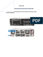 Informe sobre Almacenamiento Hewlett Packard StoreEasy 5000