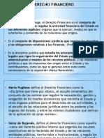 3, 4 Derecho Financiero.- Concepto