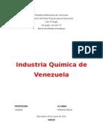 Industrias Quimicas en Venezuela