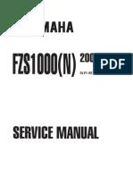 FZS1000(N) Service Manual