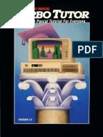 Turbo Tutor Version 2.0 1986