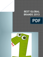 Best Global Brands 2013