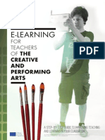 ICTs for Teachers in the Creative and Performing Arts