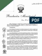 RM666-2013-MINSA Plan Estrategico Nacional 2012 2016