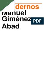 Cuadernos Manuel Gimenez Abad, N° 9, Junio 2015