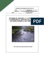 Informe de Actividades Veeduria Emergencia Rio Pamplonita