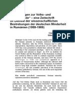 Forschungen Zur Volks- Und Landeskunde