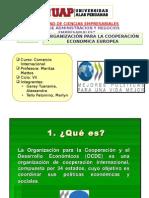 Organización Para La Cooperación Economica Europea